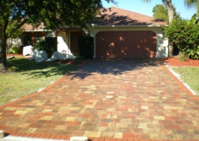 Driveway Pavers 7 - After