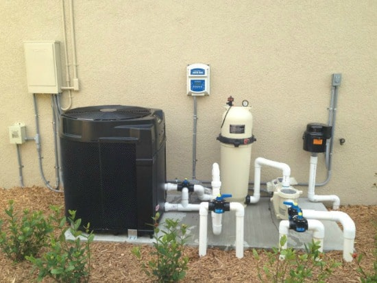 pool heaters - pool pumps
